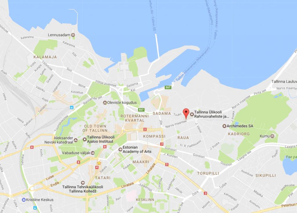 map tallinn